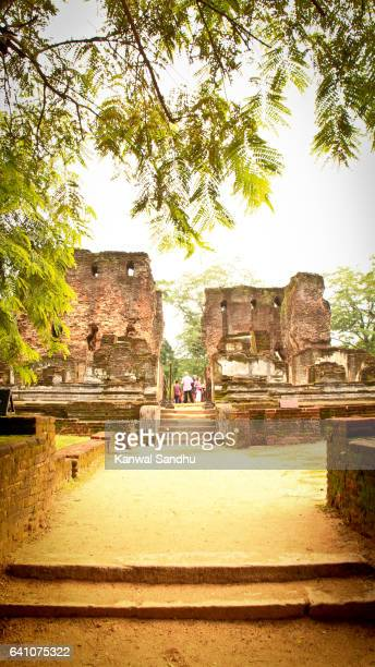 The Palace of King Parakramabahu the Great