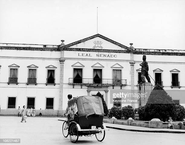 The Palace Of The Governor To Macau Portuguese To The Years 19551965