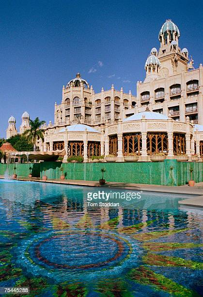 The Palace of the Lost City Hotel at Sun City the entertainment centre popular with gamblers and tourists built by the hotel magnate Sol Kerzner in...