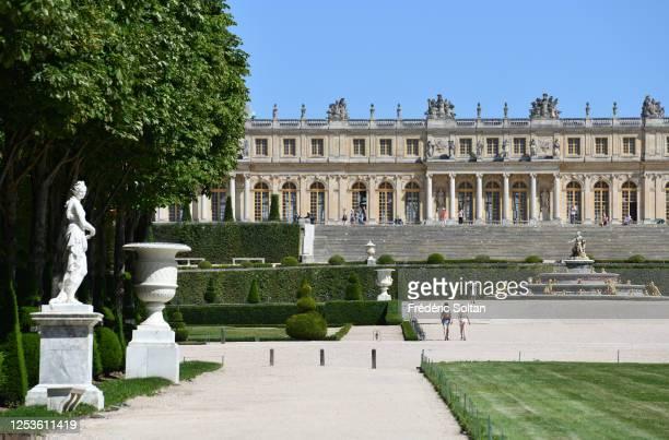 The palace of Versailles, île de France, on June 23, 2020 in Paris, France.