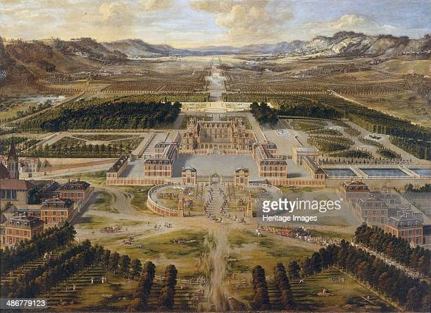 The Palace of Versailles the Grand Trianon ca 1668 Artist Patel Pierre