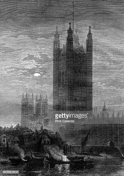 The Palace of Westminster London 19th century