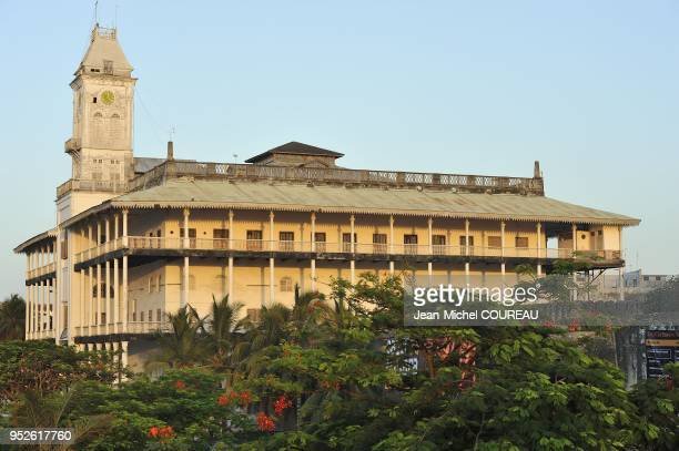 The palace was built in 1883 for Barghash bin Said, second Sultan of Zanzibar.
