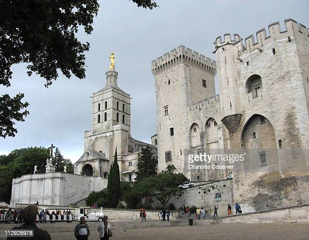 The Palais des Papes in Avignon home of the popes from 1309 to 1377 is a must visit sight in Provence