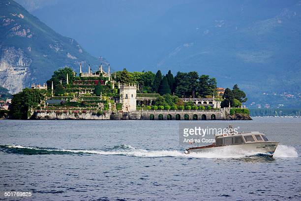 The Palazzo Borromeo is a seventeenth century building of Isola Bella, Lake Maggiore , whose gardens stretching down to the southern tip of the small...