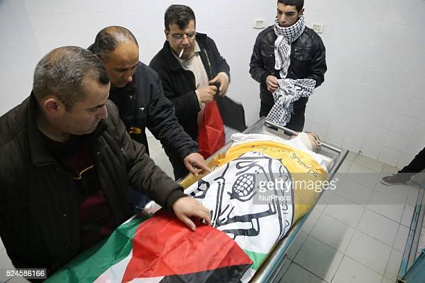 the Palestinian Martyr Jihad Alja'fary 18 years old who was Martyred last night 23 february 2015 by Israeli Occupation bullets in Al Dahesha Refugee...