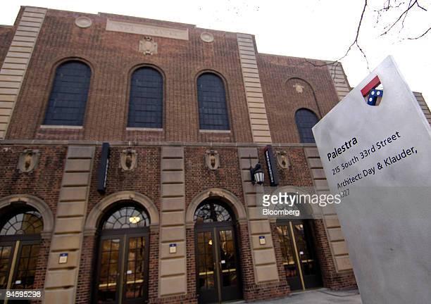 The Palestra, home of the Penn Basketball men's team, on the University of Pennsylvania campus in Philadelphia, Pennsylvania, Thursday, March 15,...