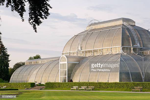 The Palm House at Kew Gardens, London, UK