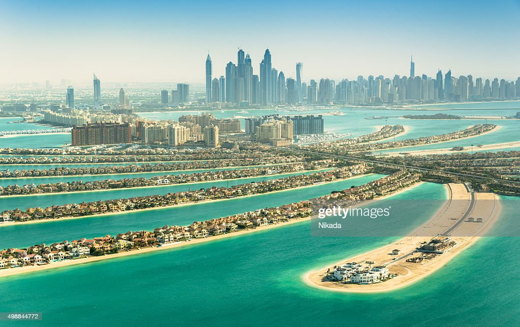 The Palm Jumeirah, Dubai, UAE : Stock Photo