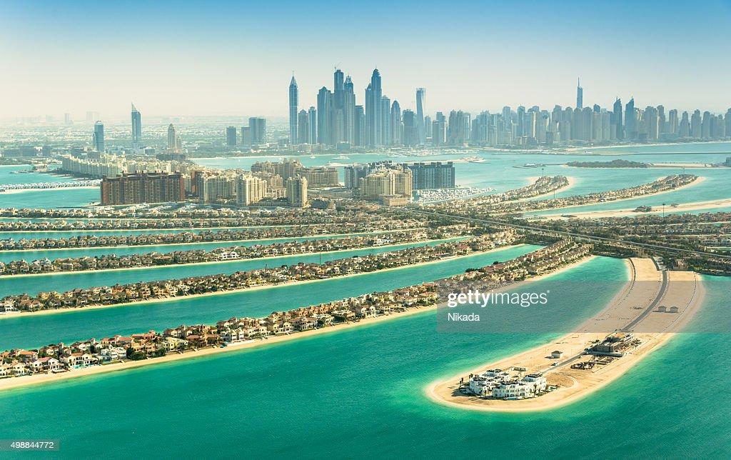 The Palm Jumeirah, Dubai, VAE : Stock-Foto