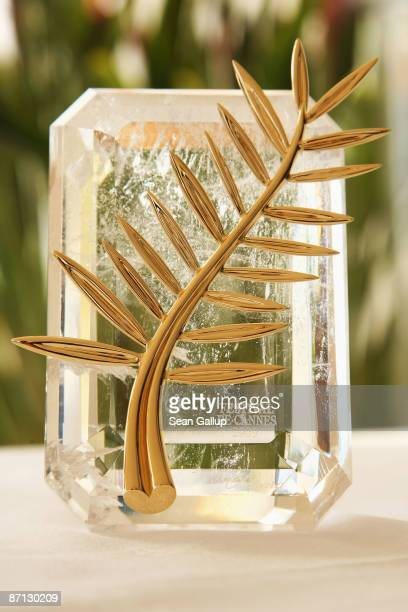The Palme d'Or is displayed prior to the start of the 62nd Cannes Film Festival on May 12 2009 in Cannes France