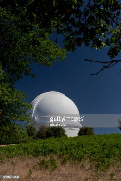 The Palomar Observatory with its 200inch Hale Telescope on Palomar Mountain