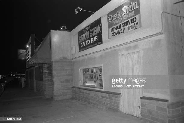 The Palomino Club, a bar and country music venue on Lankershim Boulevard in North Hollywood, Los Angeles, USA, 22nd January 1977.