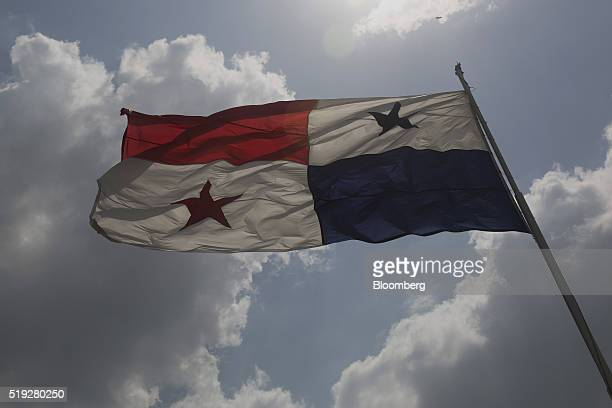 The Panamanian flag waves in Panama City Panama on Tuesday April 5 2016 For decades Jurgen Mossack and Ramon Fonseca have been the goto guys in...