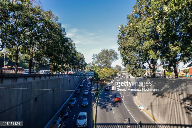 the pan-american highway in guatemala city - guatemala city stock pictures, royalty-free photos & images