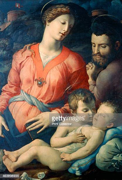 'The Panciatichi Holy Family' 15301532 From the collection of the Galleria degli Uffizi Florence Italy