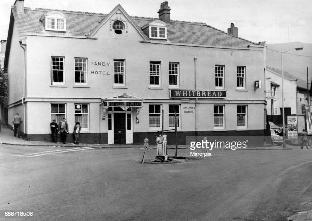 The Pandy Hotel in Pandy Square Tonypandy The statue of a woman with a lamp poised above her head was missing having stood for more than 50 years The...