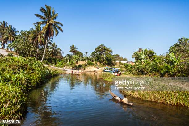 the pangalanes canal - pierre yves babelon stock pictures, royalty-free photos & images