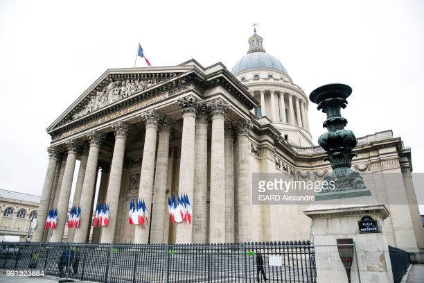 the Pantheon is photographed for Paris Match on june 19 2018 in Paris France