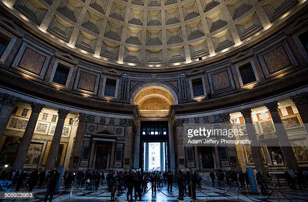 the pantheon, rome, italy - pantheon roma foto e immagini stock