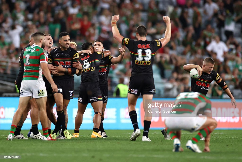 NRL Preliminary Final - Panthers v Rabbitohs : News Photo