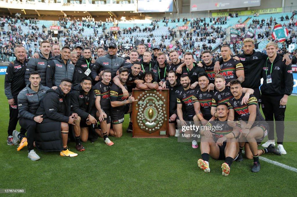 NRL Rd 20 - Bulldogs v Panthers : News Photo