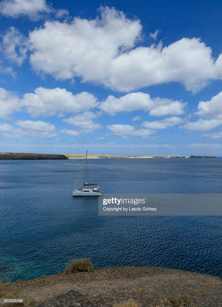 The Papagayo Beach : Stock Photo