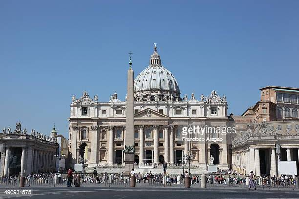 The Papal Basilica of Saint Peter officially known in Italian as the Basilica Papale di San Pietro in Vaticano and commonly known as St. Peter's...
