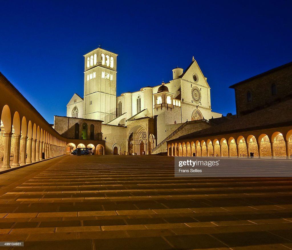 The Basilica of San Francesco d'Assisi : Nieuwsfoto's