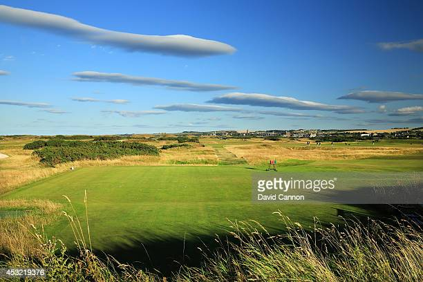 The par 3, 8th hole on the Old Course at St Andrews venue for The Open Championship in 2015, on July 29, 2014 in St Andrews, Scotland.