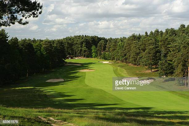 The par 4 10th hole on the Old Course at Sunningdale Golf Club on June 01 2005 in Sunnungdale England