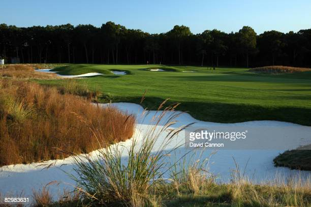 The par 4 11th hole on the Black Course at Bethpage State Park venue for the 2009 US Open Championship on September 23 2008 in Bethpage New York