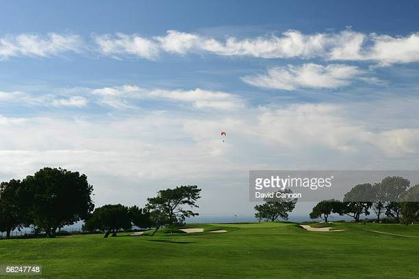 The par 4 13th hole, on the South Course, at Torrey Pines, on October 26, 2005 in San Diego, California, United States.