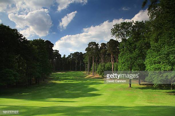 The par 4 17th hole on the Duchess Course at Woburn Golf and Country Club on June 4 in Little Brickhill England