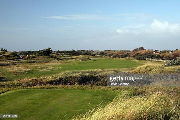 The par 4, 1st hole at Royal Birkdale Golf Club venue for the 2008 Open Championship, on October 9, 2007 in Southport, England