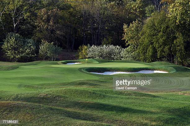 The par 4 1st hole at Valhalla Golf Club venue for the 2008 Ryder Cup Matches on October 2 2007 in Louisville Kentucky