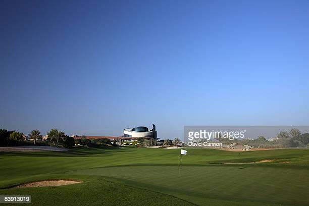 The par 4 1st hole on the Four Seasons Golf Club at Dubai Festival City on November 19 2008 in Dubai