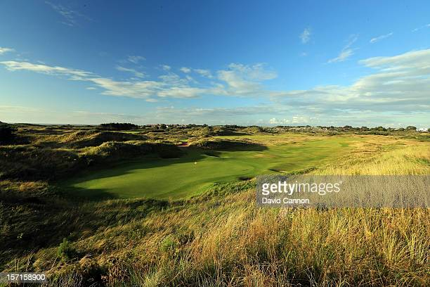 The par 4 2nd hole at The Royal Birkdale Golf Club on August 23 in Southport Merseyside England