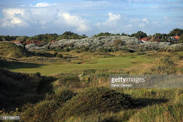 The par 4 3rd hole at The Royal Birkdale Golf Club on August 23 in Southport Merseyside England