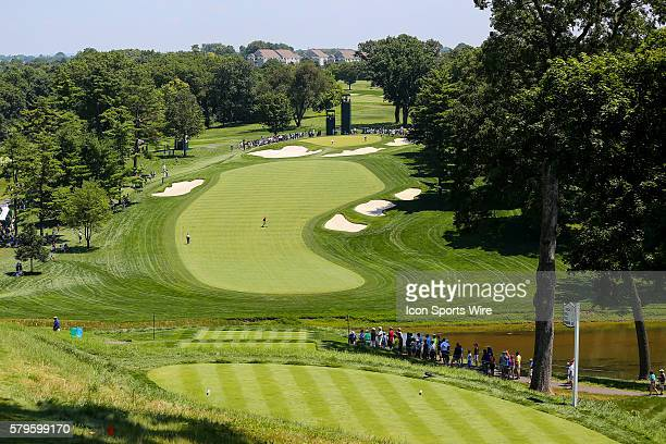 The Par 4 3rd hole during the third round of the 2015 US Womens Open played at Lancaster Country Club in Lancaster Pennsylvania