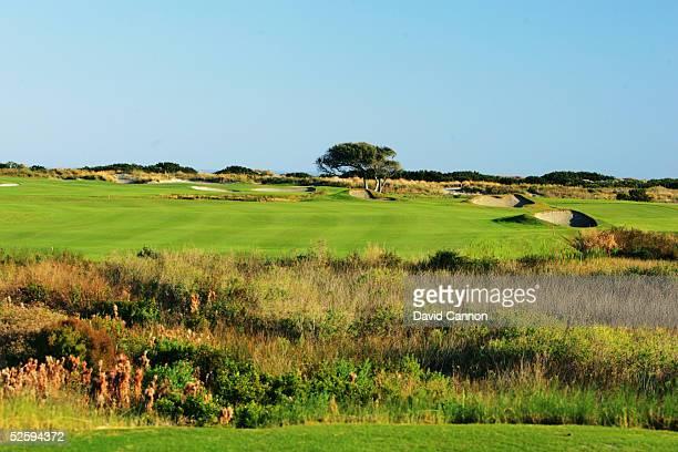 The par 4 4th hole on The Ocean Course at Kiawah Island, on November 18 in Kiawah Island, South Carolina, USA.