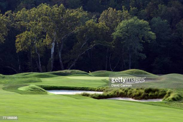 The par 4 5th hole at Valhalla Golf Club venue for the 2008 Ryder Cup Matches on October 2 2007 in Louisville Kentucky