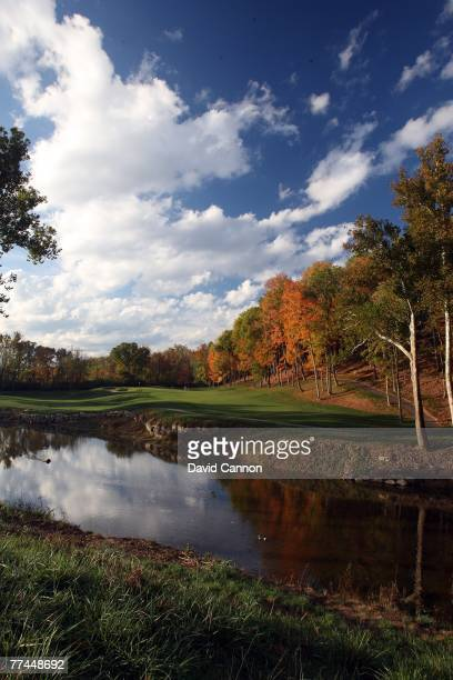 The par 4, 6th hole at Valhalla Golf Club is previewed for the 2008 Ryder Cup at Valhalla Golf Club on October 22, 2007 in Louisville,Kentucky.