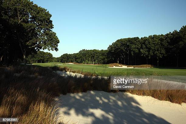 The par 4 7th hole on the Black Course at Bethpage State Park venue for the 2009 US Open Championship on September 23 2008 in Bethpage New York