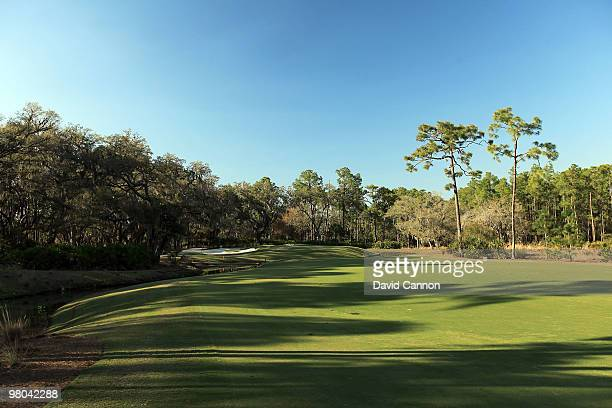 The par 4, 8th hole at the Concession Golf Club on March 18, 2010 in Bradenton, Florida.