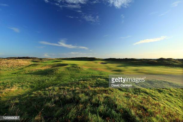 The par 5 6th hole at Portmarnock Golf Club on October 19 2010 in Portmarnock Co Dublin Republic of Ireland