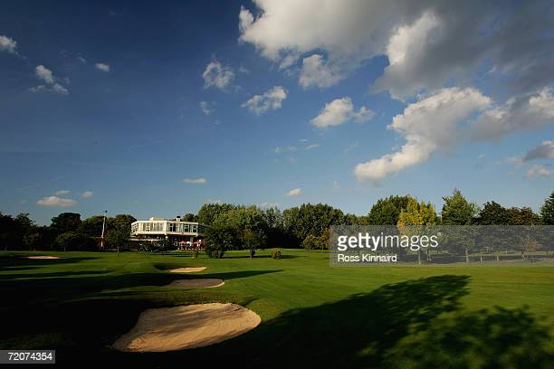 The par four 9th hole at The Leicestershire Golf Club on September 27 2006 in Leicester England
