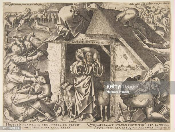 The Parable of the Good Shepherd 1565 Artist Philip Galle