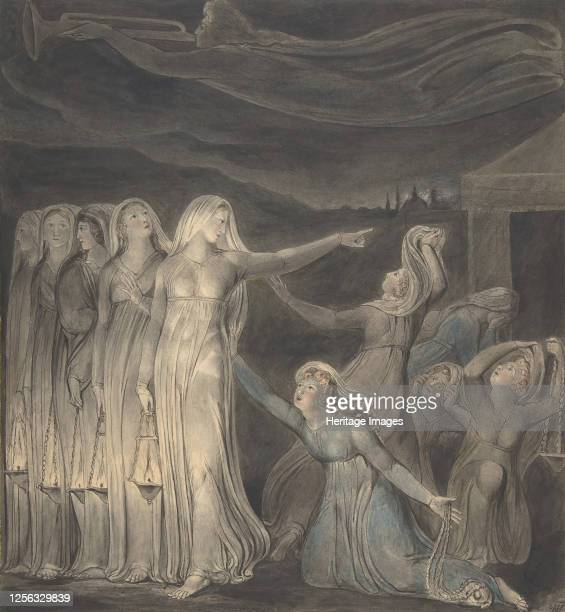 The Parable of the Wise and Foolish Virgins circa 17991800 Artist William Blake