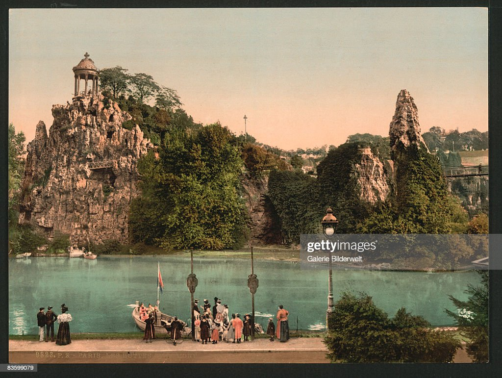 Les Buttes Chaumont : Nachrichtenfoto